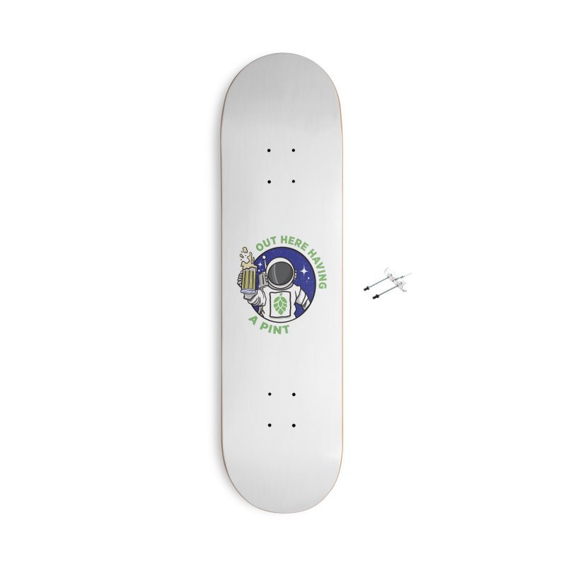 New OHHAP LOGO Accessories With Hanging Hardware Skateboard by OHHAP Podcast's Artist Shop