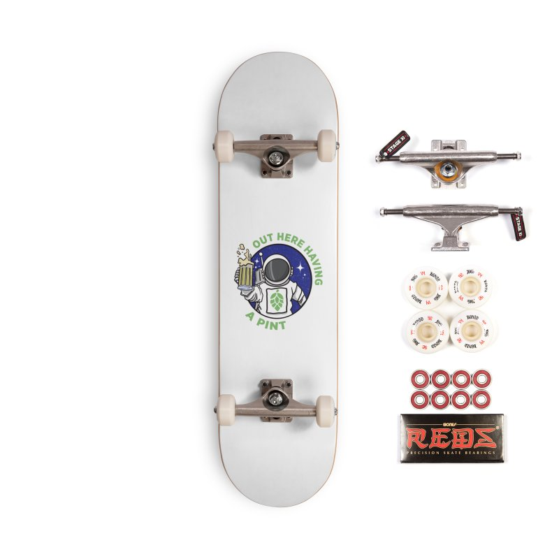 New OHHAP LOGO Accessories Complete - Pro Skateboard by OHHAP Podcast's Artist Shop