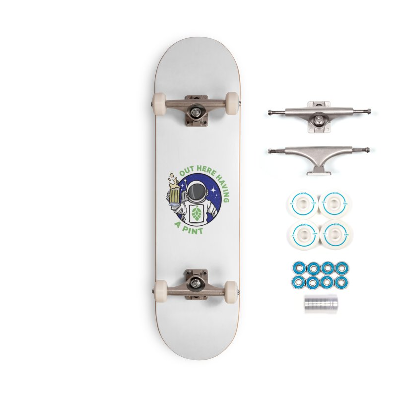 New OHHAP LOGO Accessories Complete - Basic Skateboard by OHHAP Podcast's Artist Shop