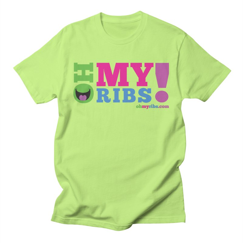 Oh My Ribs! Classic Logo Men's T-Shirt by Oh My Ribs! Entertainment