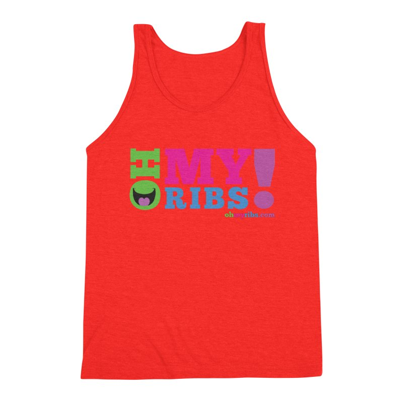 Oh My Ribs! Classic Logo Men's Tank by Oh My Ribs! Entertainment