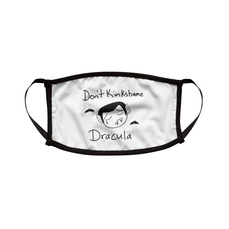 Don't Kinkshame Dracula Accessories Face Mask by Oh No! Lit Class Store