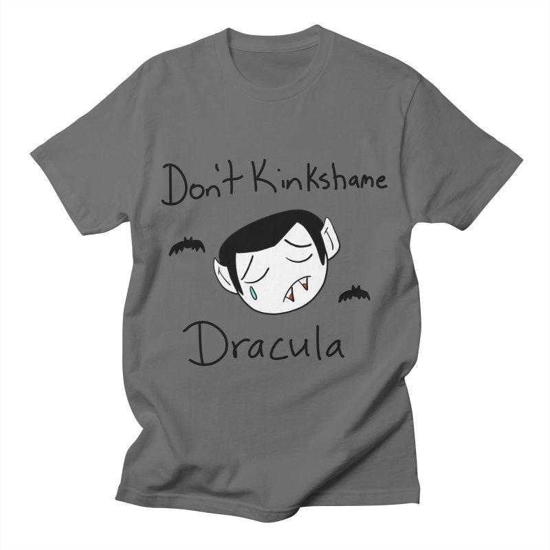 Don't Kinkshame Dracula Men's T-Shirt by Oh No! Lit Class Store
