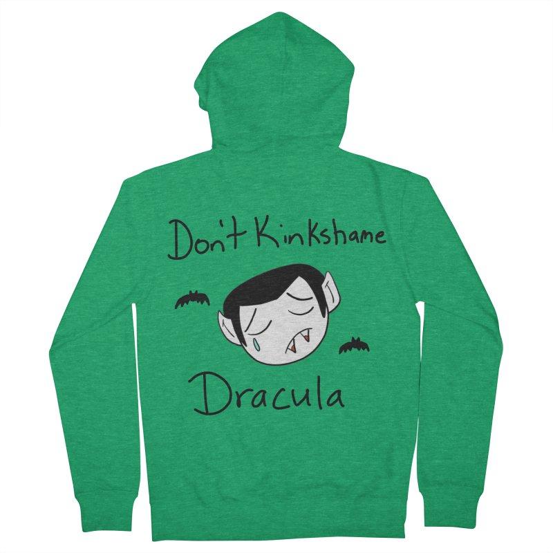 Don't Kinkshame Dracula Men's Zip-Up Hoody by Oh No! Lit Class Store