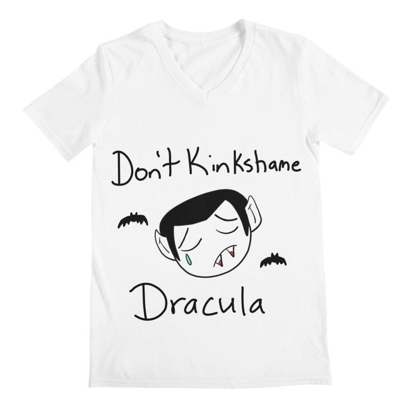 Don't Kinkshame Dracula Men's V-Neck by Oh No! Lit Class Store
