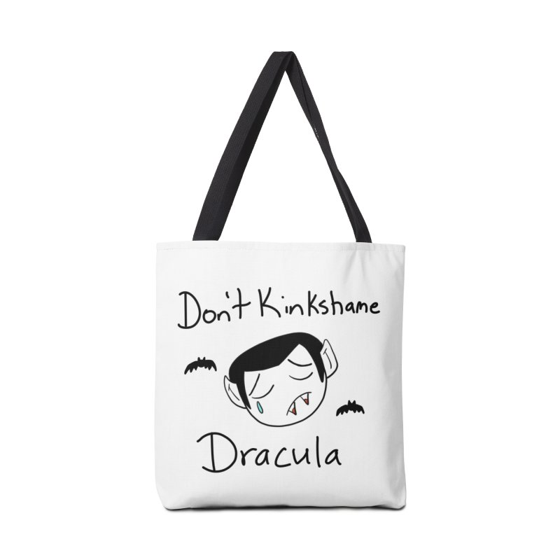 Don't Kinkshame Dracula Accessories Bag by Oh No! Lit Class Store
