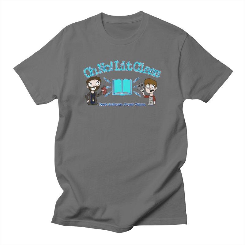 Megan and RJ Logo Women's T-Shirt by Oh No! Lit Class Store