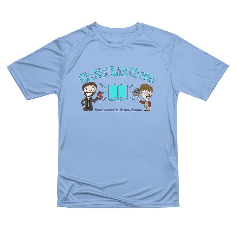 Megan and RJ Logo Men's T-Shirt by Oh No! Lit Class Store