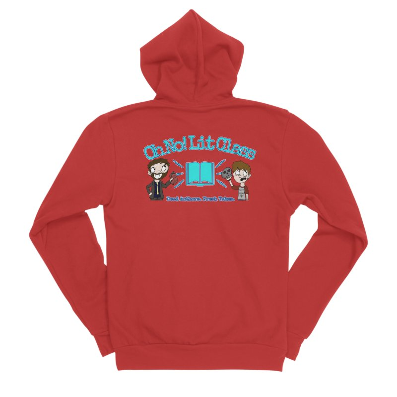 Megan and RJ Logo Men's Zip-Up Hoody by Oh No! Lit Class Store