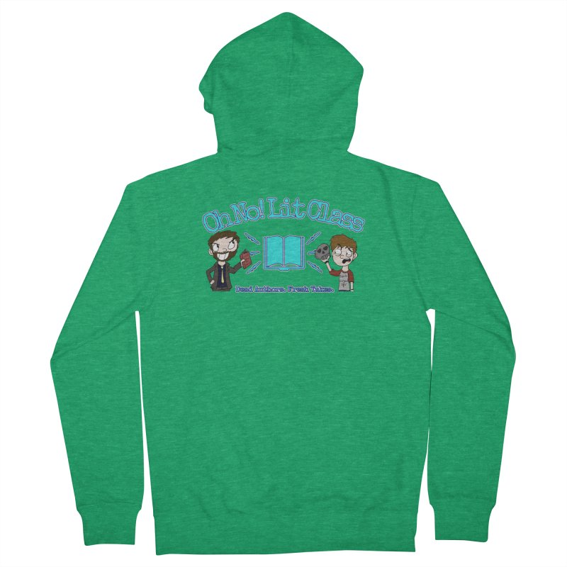 Megan and RJ Logo Women's Zip-Up Hoody by Oh No! Lit Class Store