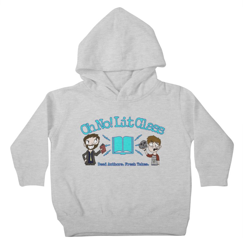Megan and RJ Logo Kids Toddler Pullover Hoody by Oh No! Lit Class Store