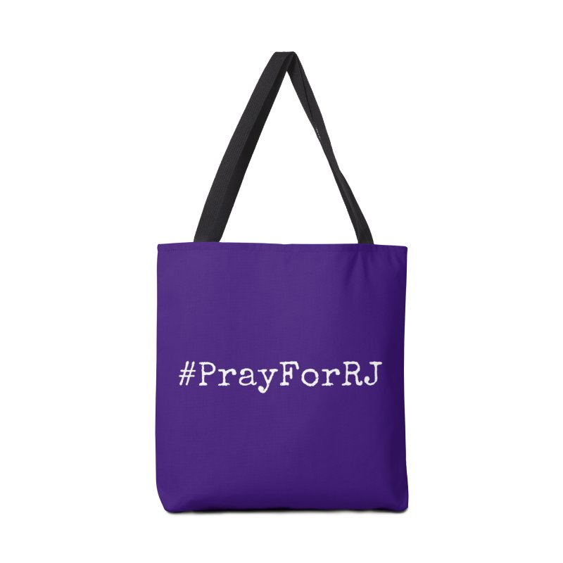 #PrayForRJ Accessories Bag by Oh No! Lit Class Store