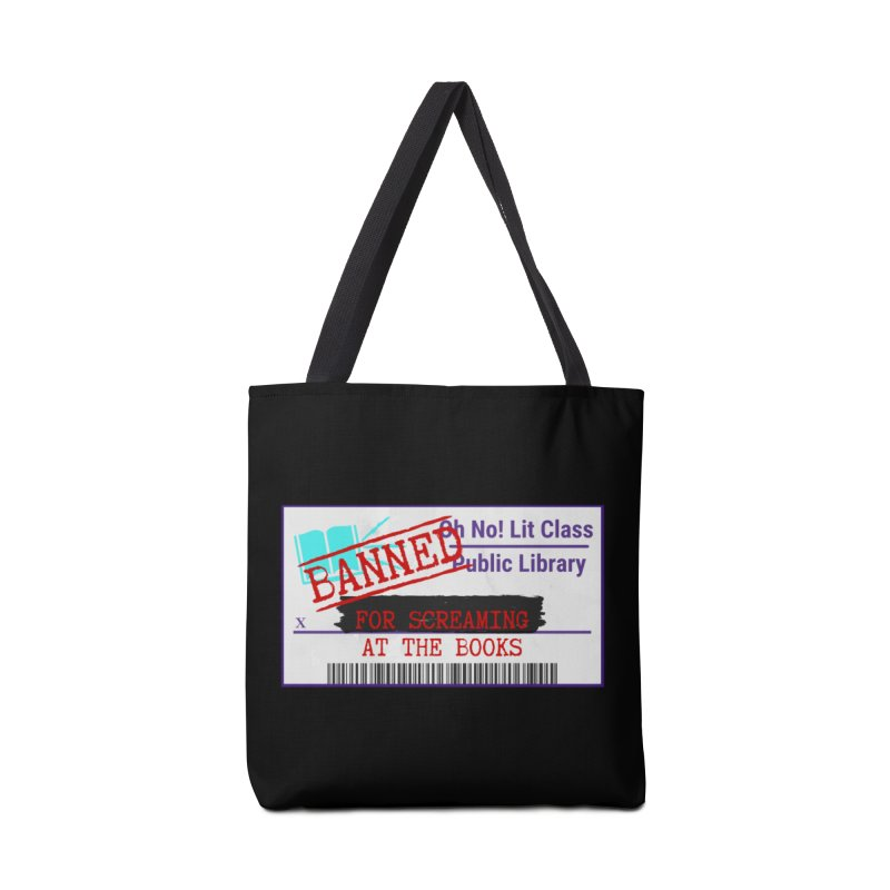 BANNED FOR LIFE Accessories Bag by Oh No! Lit Class Store