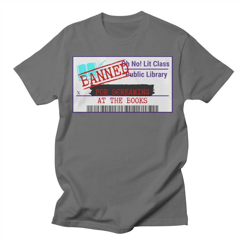 BANNED FOR LIFE Women's T-Shirt by Oh No! Lit Class Store