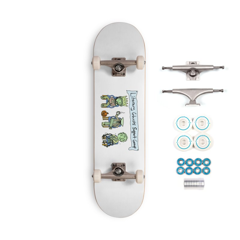 Ghostly Group Accessories Skateboard by Oh No! Lit Class Store