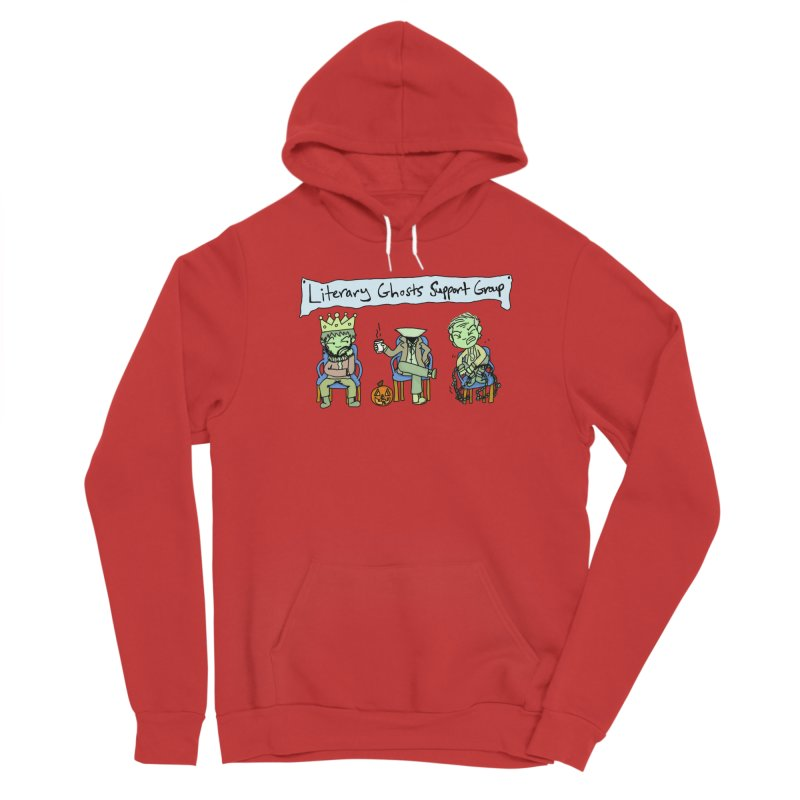 Ghostly Group Men's Pullover Hoody by Oh No! Lit Class Store