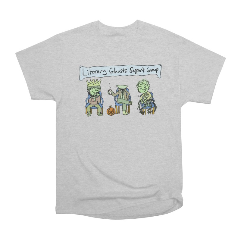 Ghostly Group Men's T-Shirt by Oh No! Lit Class Store