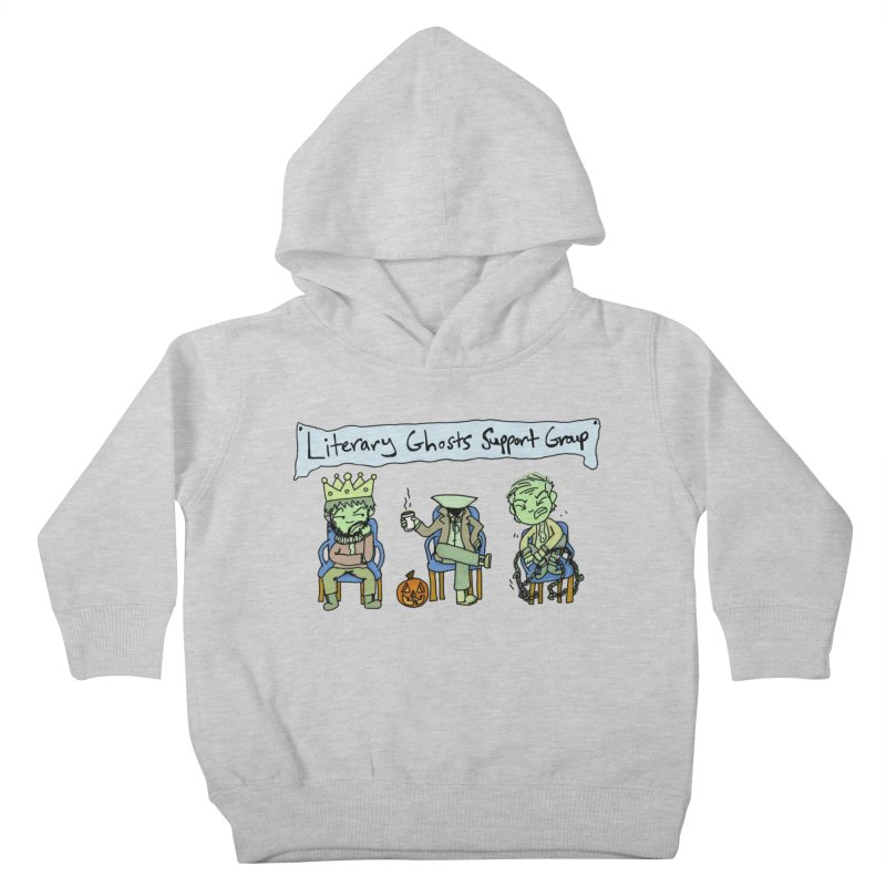 Ghostly Group Kids Toddler Pullover Hoody by Oh No! Lit Class Store