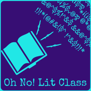 Oh No! Lit Class Store Logo