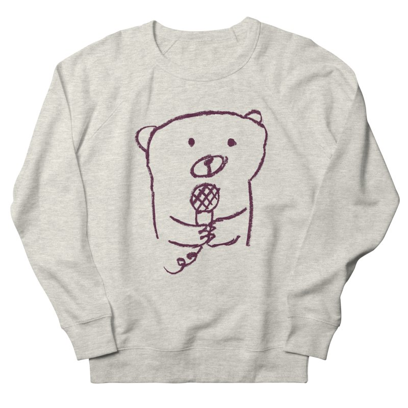 Rock Bear Women's Sweatshirt by Ohufu