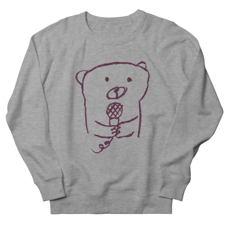 Rock Bear Men's Sweatshirt by Ohufu