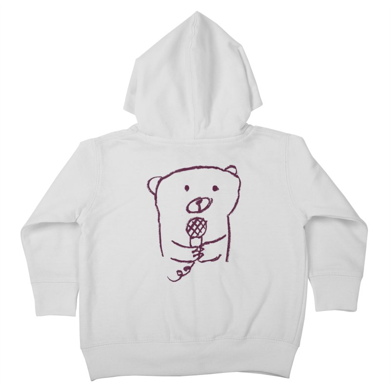 Rock Bear Kids Toddler Zip-Up Hoody by Ohufu