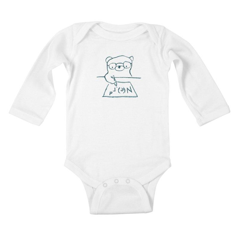 NERD Kids Baby Longsleeve Bodysuit by Ohufu