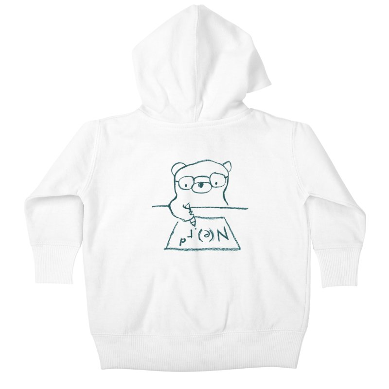 NERD Kids Baby Zip-Up Hoody by Ohufu