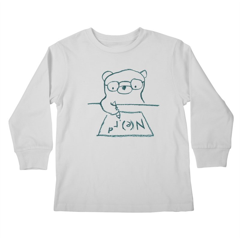 NERD Kids Longsleeve T-Shirt by Ohufu