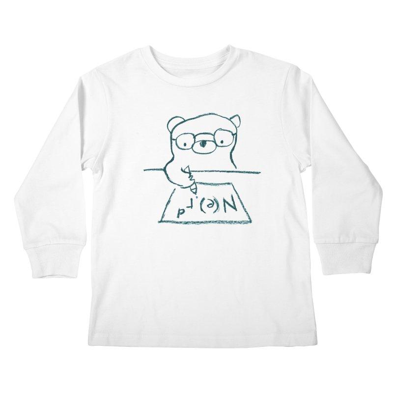 NERD Kids Longsleeve T-Shirt by Ohufu