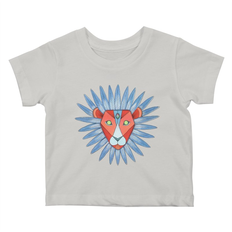 STRENGTH Kids Baby T-Shirt by OH YEAH by Amalia