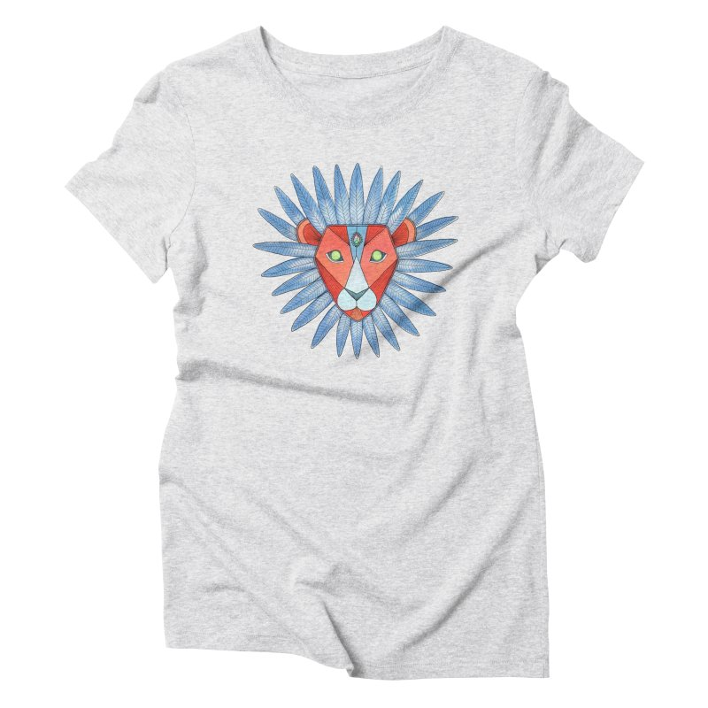 STRENGTH Women's Triblend T-Shirt by OH YEAH by Amalia
