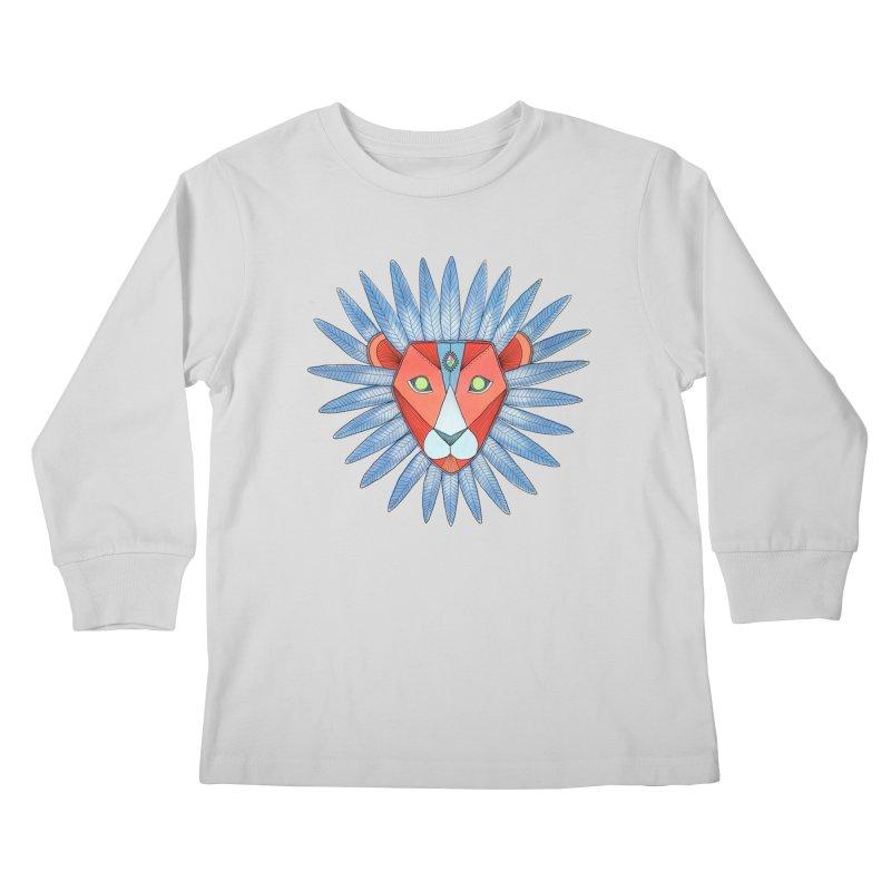 STRENGTH Kids Longsleeve T-Shirt by OH YEAH by Amalia