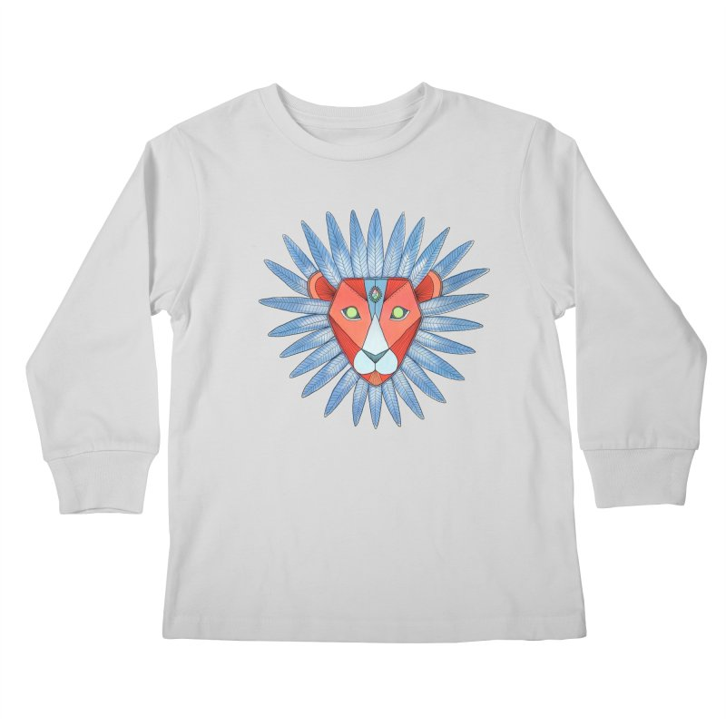 STRENGTH Kids Longsleeve T-Shirt by OH YEAH by Amalia
