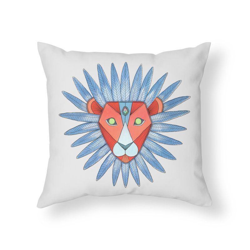 STRENGTH Home Throw Pillow by OH YEAH by Amalia