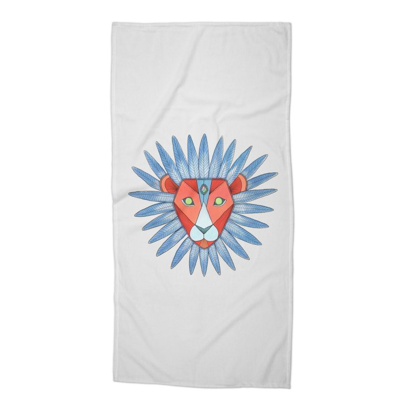STRENGTH Accessories Beach Towel by OH YEAH by Amalia