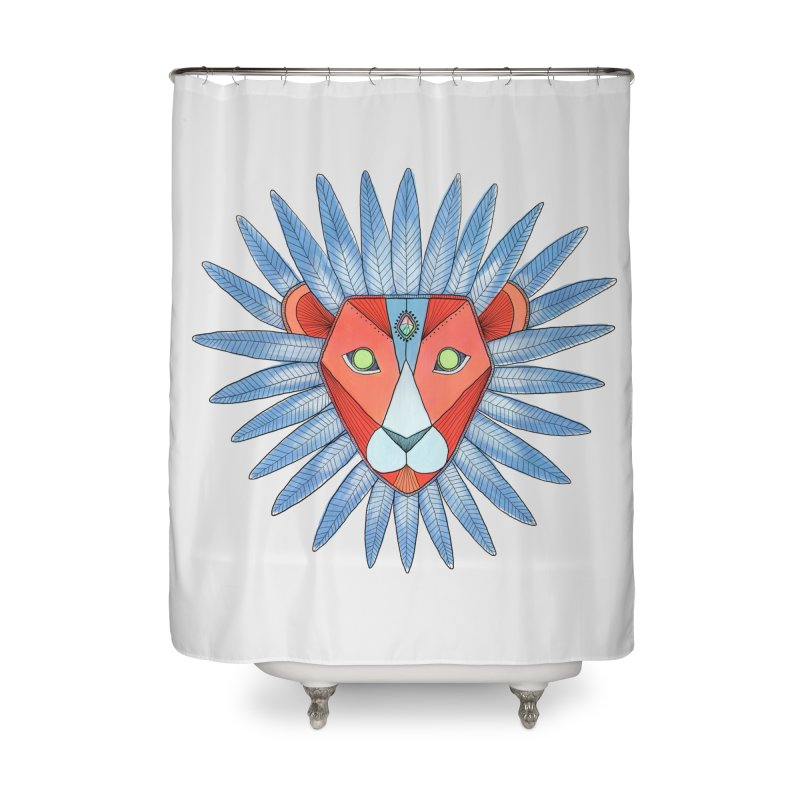 STRENGTH Home Shower Curtain by OH YEAH by Amalia