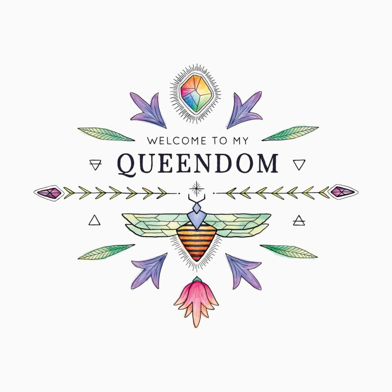 QUEENDOM color Kids T-Shirt by OH YEAH by Amalia