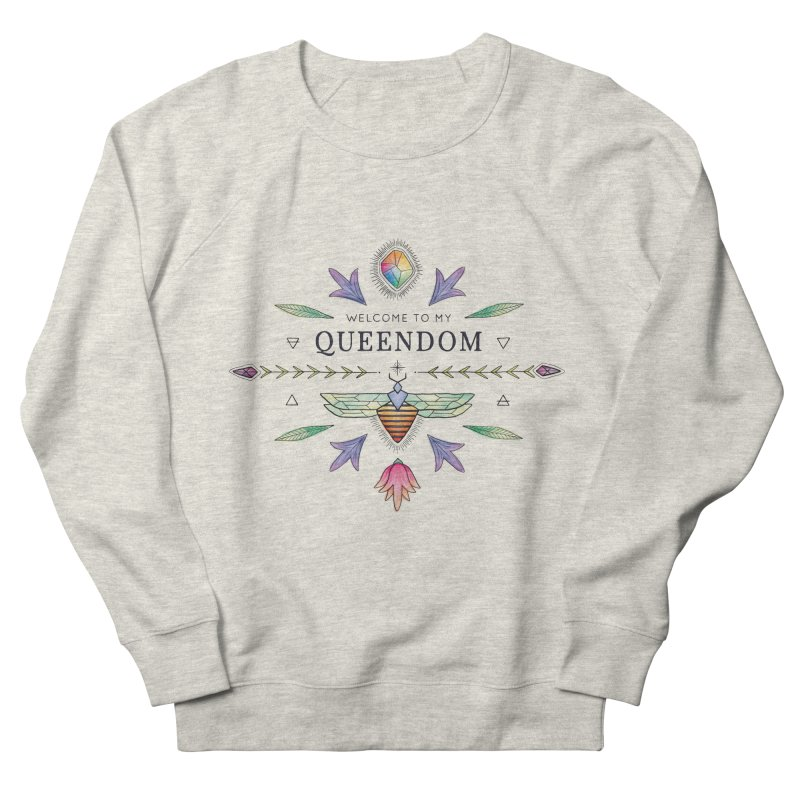 QUEENDOM color Women's Sweatshirt by OH YEAH by Amalia