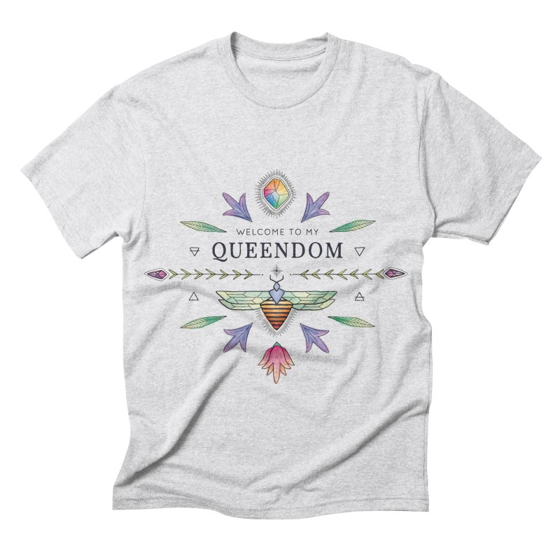QUEENDOM color Men's Triblend T-shirt by OH YEAH by Amalia
