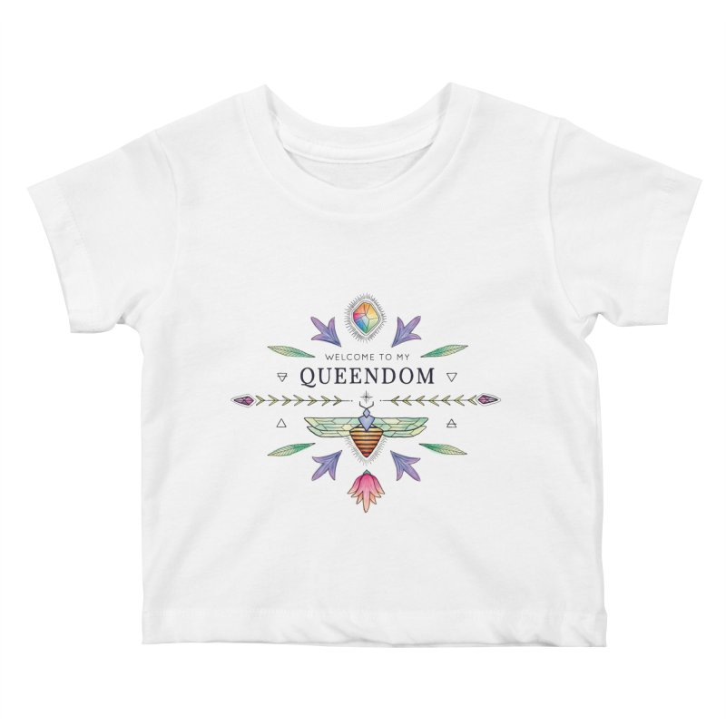 QUEENDOM color Kids Baby T-Shirt by OH YEAH by Amalia
