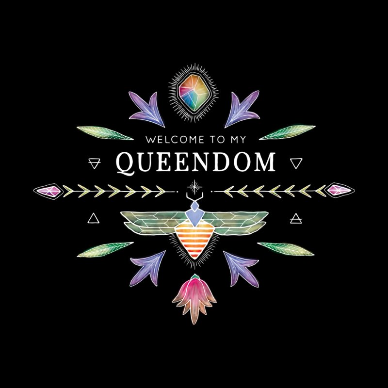 QUEENDOM color on dark Women's Tank by OH YEAH by Amalia