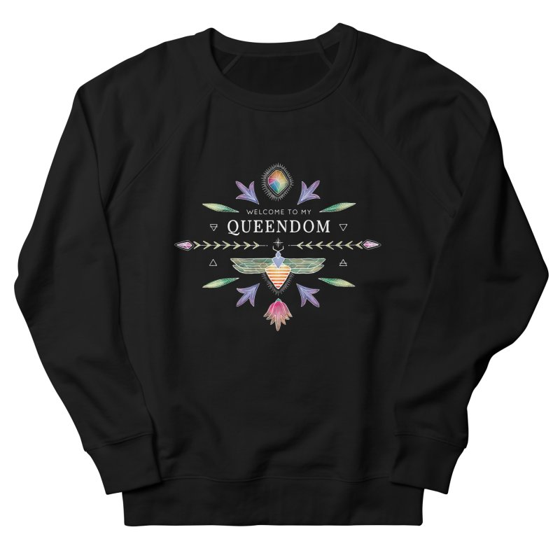 QUEENDOM color on dark Women's Sweatshirt by OH YEAH by Amalia