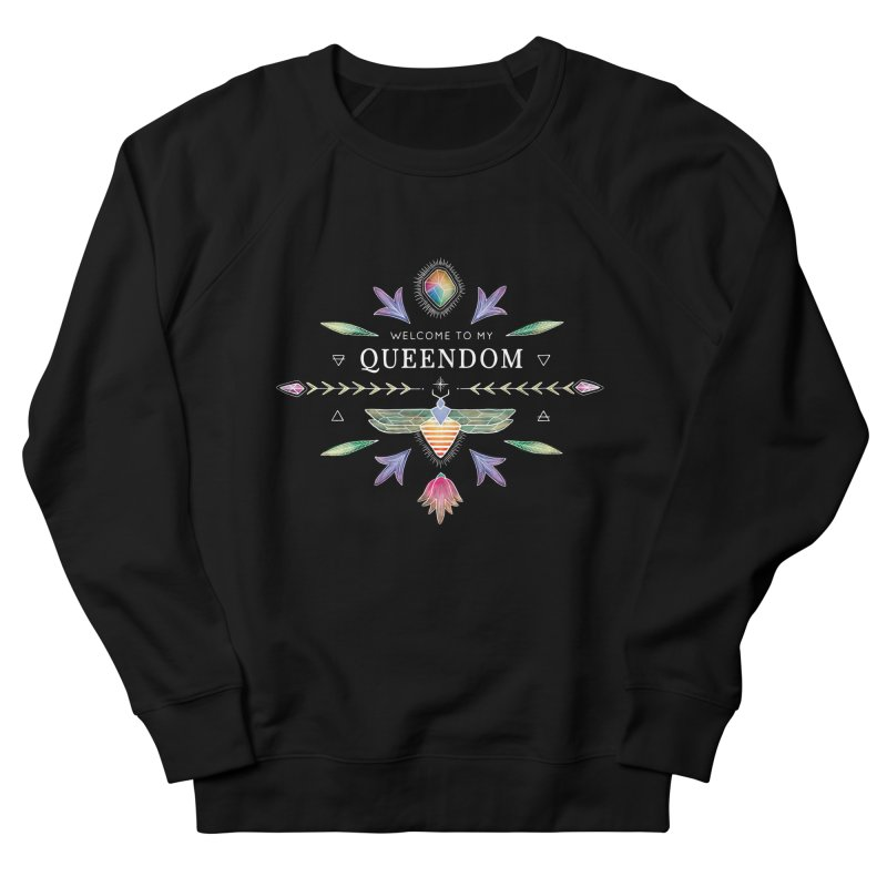 QUEENDOM color on dark Men's Sweatshirt by OH YEAH by Amalia