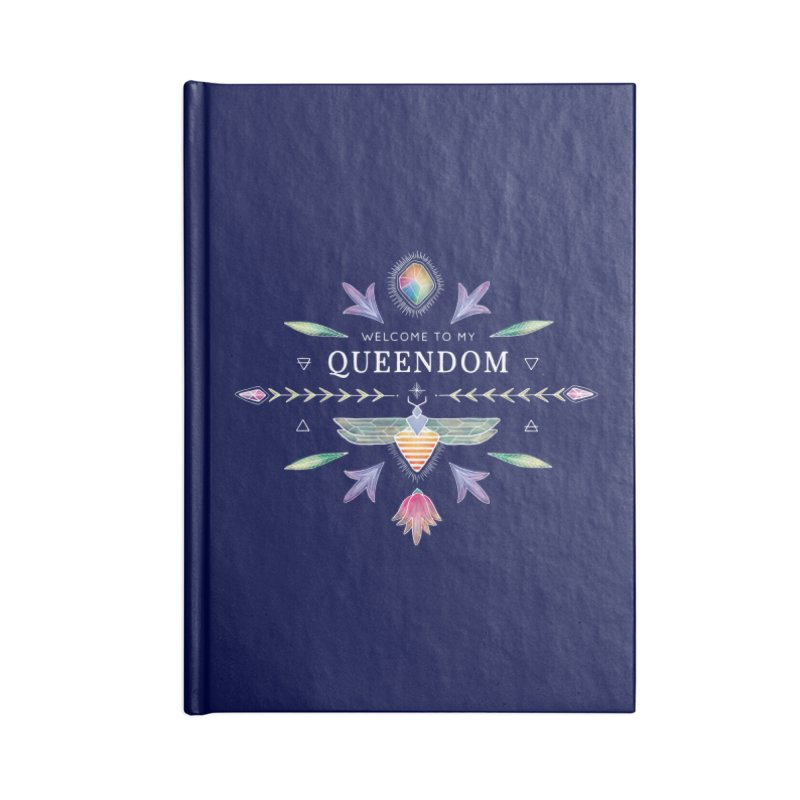 The Queendom Book Accessories Lined Journal Notebook by OH YEAH by Amalia