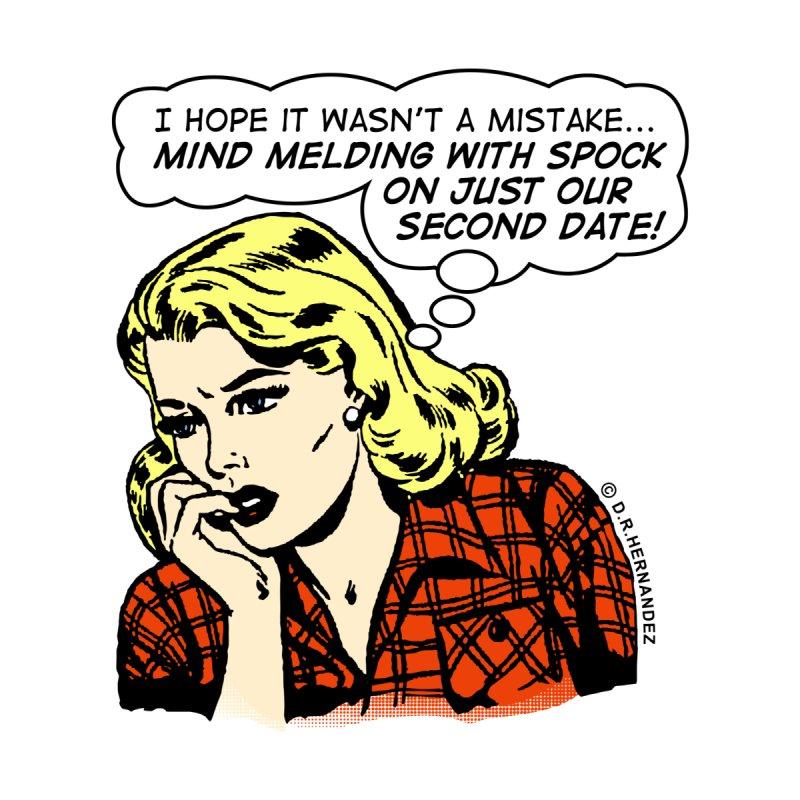 Mind Melding With Spock • CMX005 • © D.R.HERNANDEZ Women's V-Neck by OilyBobRetro