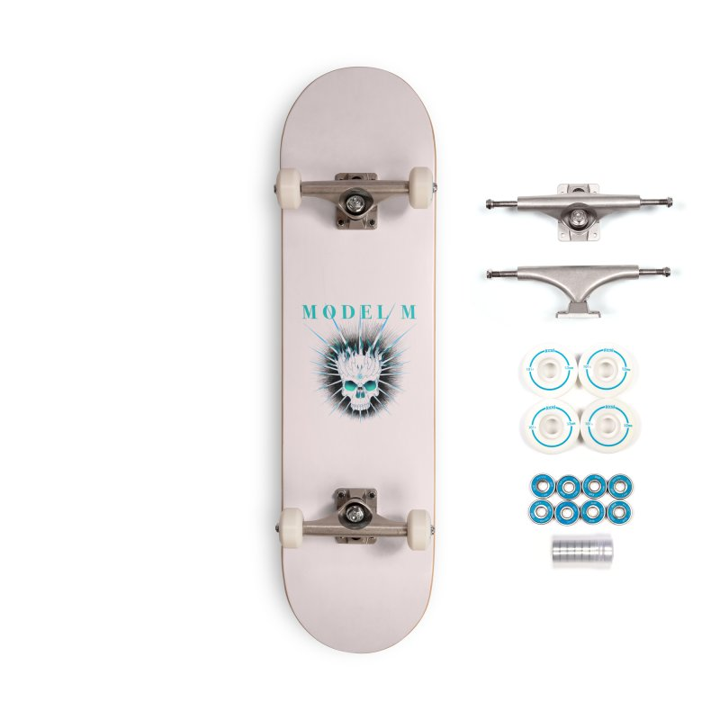 Model M - Evil (Colour) Accessories Skateboard by Oh Just Peachy Studios Music Store