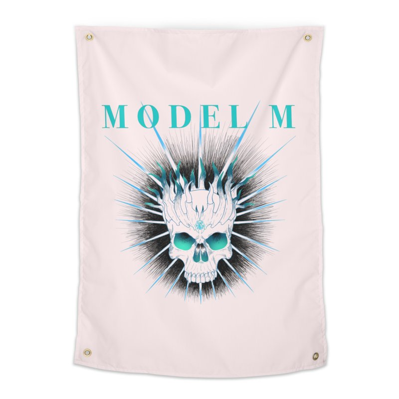 Model M - Evil (Colour) Home Tapestry by Oh Just Peachy Studios Music Store