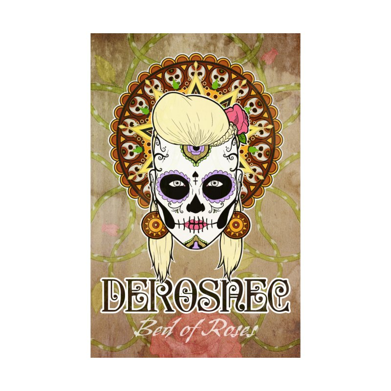 DEROSNEC - Bed of Roses, Muerta (Color) by Oh Just Peachy Studios Music Store