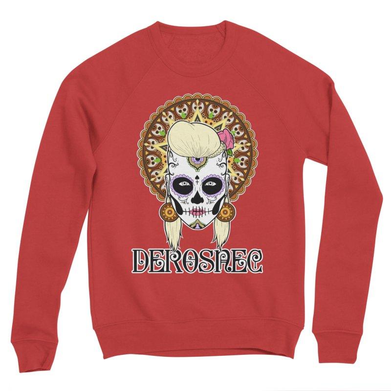 DEROSNEC - Bed of Roses, Muerta (Color) Women's Sponge Fleece Sweatshirt by Oh Just Peachy Studios Music Store